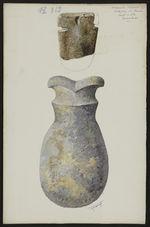 Antiquités Caraïbes. Collection L. Guesde. Pointe à Pitre. Guadeloupe [deux...