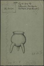 Fig. 43. Colombie, San Agustin. Vase tripode