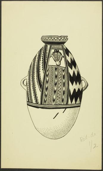 Fig. 49. Pérou, Ancon. Vase ovoïde
