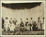 Troupe théâtrale constituée par des anciens élèves de l'école musulmane de Fès
