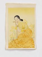 Portrait of a Chamorro Woman. Yellow