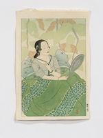 Portrait of a Chamorro Woman. Green