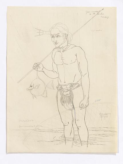 Portrait de Yen, revenant de la pêche sous la pluie