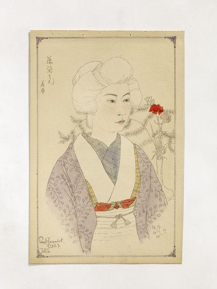 La geisha Fujiye