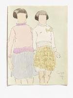 Two girls [deux filles]