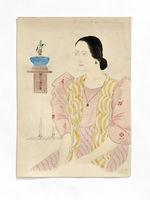 Mme Joaquina Sablan Diaz. Belle Chamorro de Guam. Madame J. Sablan Diaz, riche...