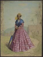 Costume de la Guadeloupe