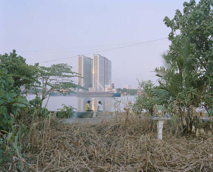 Lam From Srakaeo Province and Noi From Ubon Ratchathani Province, Ratburana, Bangkok