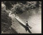 Sans titre [premier voyage de la curiara sur la rivière]