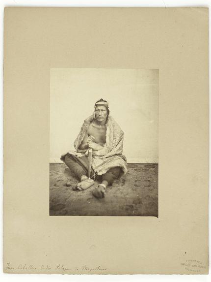 Juan Caballero Indio Patagon de Magallanes