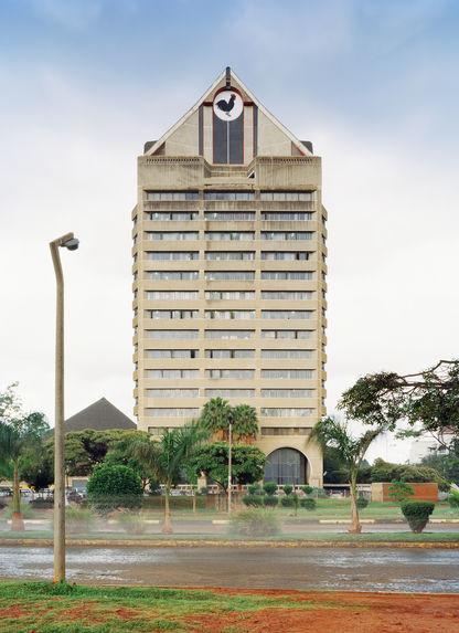 Zimbabwe, ZANU PF headquarters (Zimbabwe African National Union Patriotic Front), Harare 2013