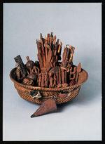 Divination basket [panier divinatoire]