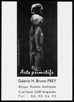 Sculpture Abelam, Maprik, Nlle Guinée. H : 69 cm