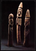 Guerriers d'Abyssinie, sculptures funéraires d'Ethiopie