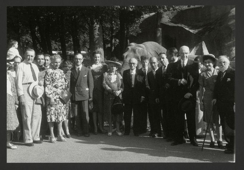 Congrès International des Américanistes, Paris 1947 [portrait de groupe]