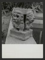 Pied d'encensoir orné de quatre personnages