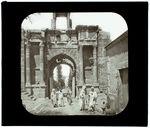 Tebessa. Porte de Caracalla. Ruines romaines
