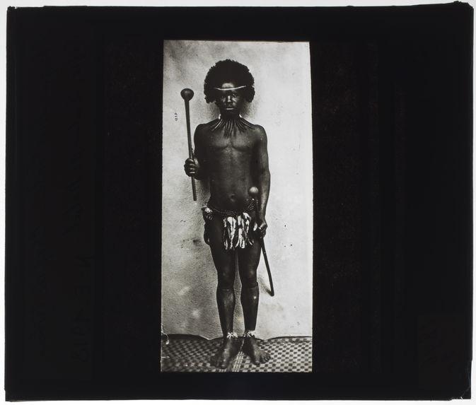 Chef de tribu Cafre, Zulu de Natal