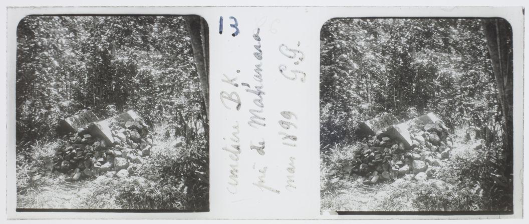 Cimetière BK. près de Mahanoro