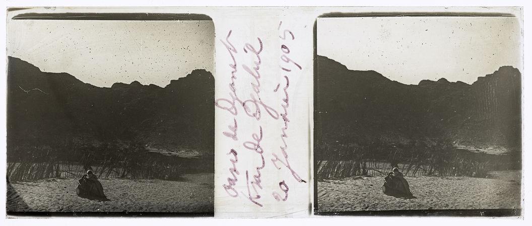 Oasis de Djanet. Ksar de Djabril. 20 janvier 1905