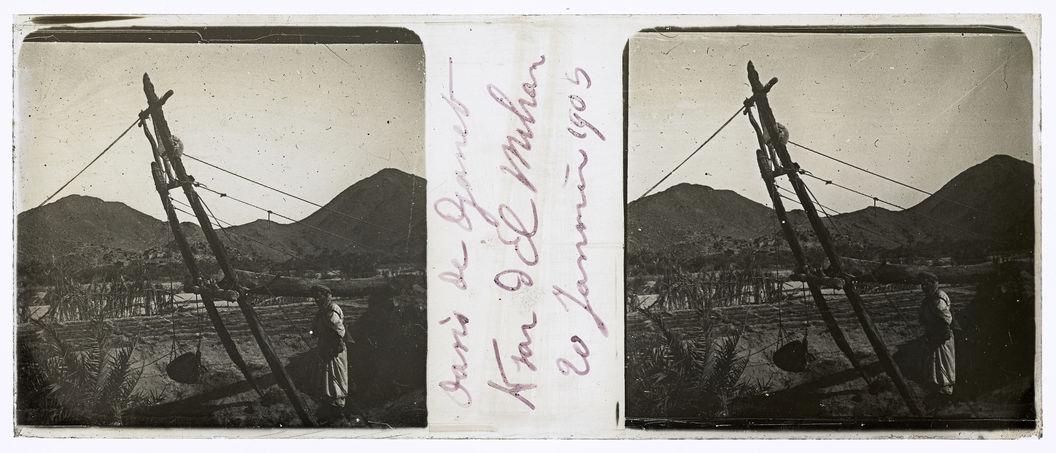 Oasis de Djanet. Ksar d'El Mihan. 20 janvier 1905